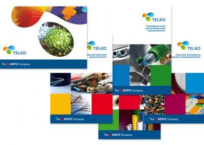 Telko — каталог и брошюры